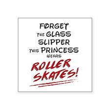 Roller Princess Sticker