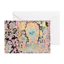 """Muerta Lisa"" Card Greeting Cards"