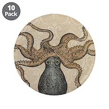 Octopus Kraken vintage scientific illustration 3.5