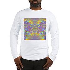 Fractal ~ Abstract Colors Long Sleeve T-Shirt