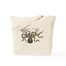 Octopus Kraken vintage scientific illustration Tot