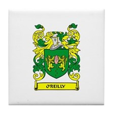 O'REILLY Coat of Arms Tile Coaster