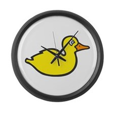 duck Large Wall Clock
