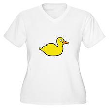 duck Plus Size T-Shirt