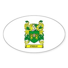 O'REILLY Coat of Arms Oval Decal