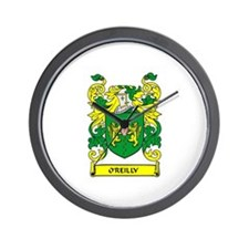 O'REILLY Coat of Arms Wall Clock