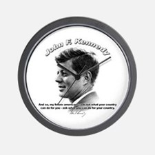 John F. Kennedy 03 Wall Clock