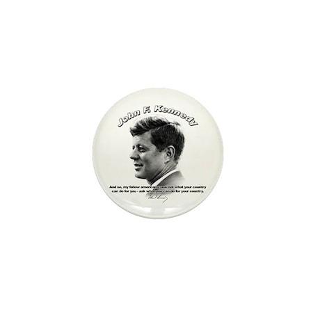 John F. Kennedy 03 Mini Button