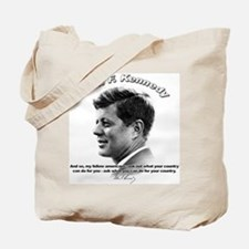 John F. Kennedy 03 Tote Bag