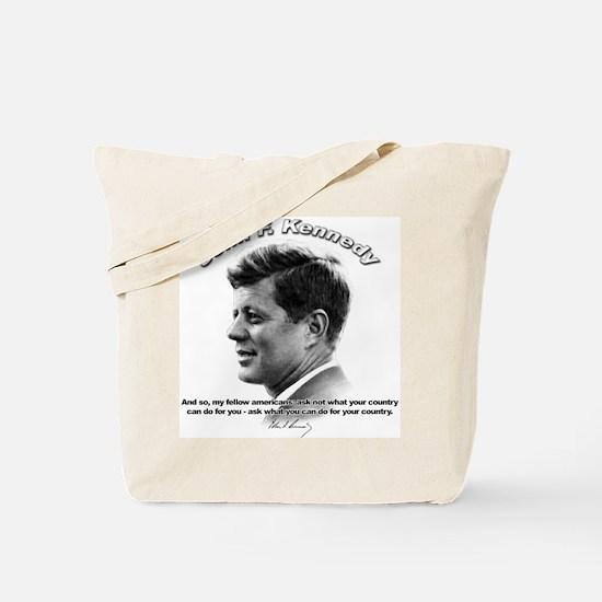 John F. Kennedy 03 Tote Bag