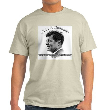 John F. Kennedy 03 Light T-Shirt