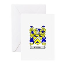 O'REGAN Coat of Arms Greeting Cards (Pk of 10)