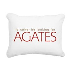 Cute Agate Rectangular Canvas Pillow