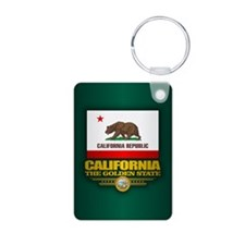 California Flag Keychains