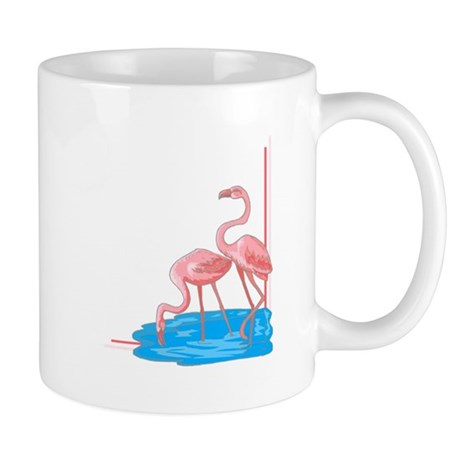 i love pink flamingos.