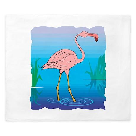 i love pink flamingos.