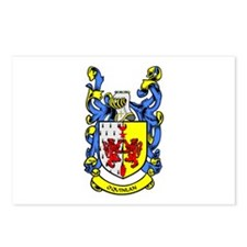 O'QUINLAN Coat of Arms Postcards (Package of 8)