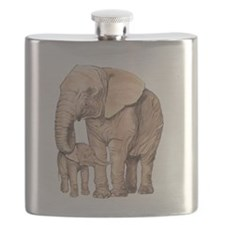 Cute Animal protection Flask