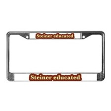 Steiner educated gifts License Plate Frame