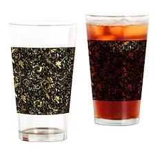 Unique Black gold Drinking Glass
