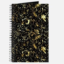 Cute Black gold Journal