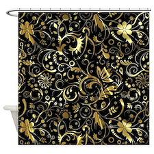 Unique Vintage damask Shower Curtain