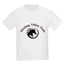 Mustang Valley Farm Logo T-Shirt