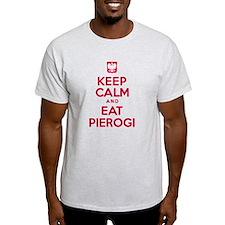 Keep Calm Eat Pierogi T-Shirt