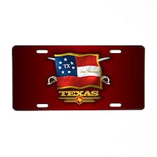 Texas DV Aluminum License Plate