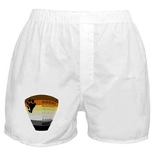 BEAR PRIDE COLORS & GRRR! Boxer Shorts