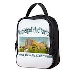 Long Beach Municipal Auditorium Neoprene Lunch Bag