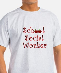 Cute School social worker T-Shirt