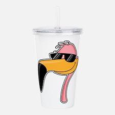 fender flamingo Acrylic Double-wall Tumbler