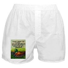 Duck Paddle Boxer Shorts