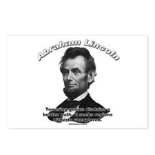Abraham Lincoln 01 Postcards (Package of 8)