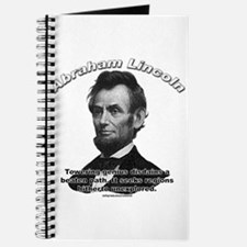 Abraham Lincoln 01 Journal