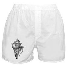 vintage sea horse Boxer Shorts