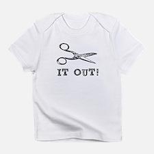 Cut It Out Scissors Infant T-Shirt