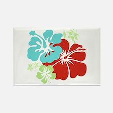 Hawaiian Hibiscus Magnets