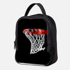 Basketball Hoop Neoprene Lunch Bag