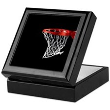 Basketball Hoop Keepsake Box