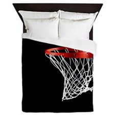 Basketball Hoop Queen Duvet
