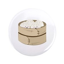 "Dumplings 3.5"" Button (100 pack)"