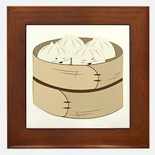 Dumplings Framed Tile