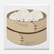 Dumplings Tile Coaster