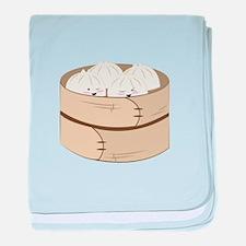 Dumplings baby blanket