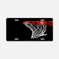 Basketball Hoop Aluminum License Plate