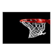Basketball Hoop Postcards (Package of 8)