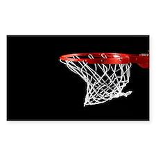 Basketball Hoop Decal