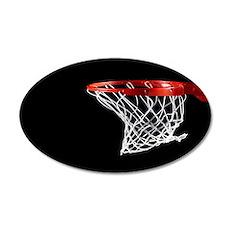 Basketball Hoop Wall Decal
